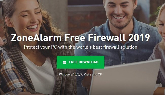Брандмауэр ZoneAlarm Free Firewall
