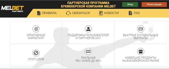 Обзор партнерской программы MelbetPartners – заработок на ставках игроков.