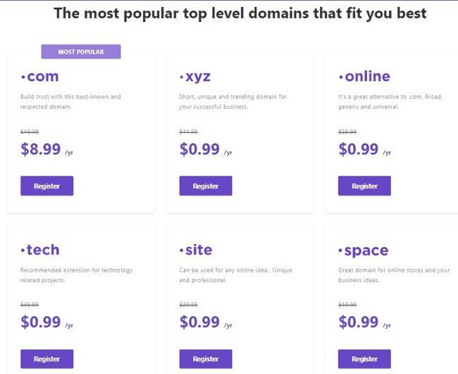 Выбор доменной зоны