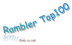 Регистрация пользователя в каталоге Рамблер Топ 100 (Rambler Top 100)