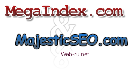 MajesticSEO.com - на русском, MegaIndex - на английском