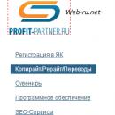 Копирайт/Рерайт/Переводы в Profit-partner.ru