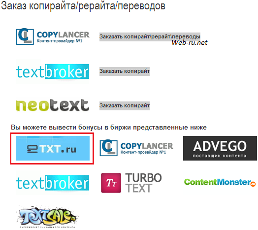 Profit-partner.ru - заказ статьи