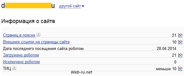 Информация о сайте - 30.4.2014