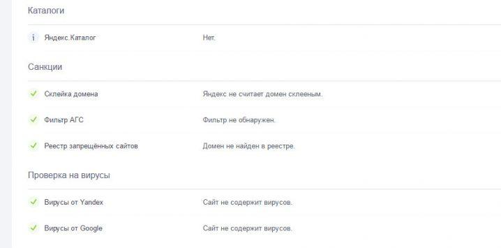 Анализ сайта проверка в наличия в яндекс каталоге