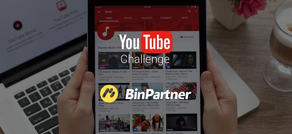 Конкурс для YouTube блоггеров от BinPartner