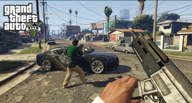 Шрифт GTA, скачать San Andreas