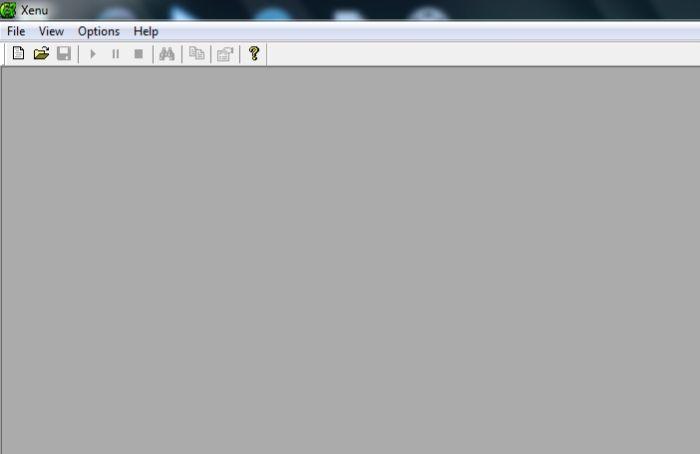 Программа для поиска битых ссылок - Xenu