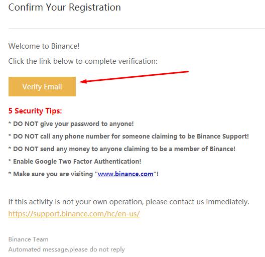 Verify Email - верификация емейла